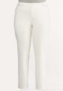 Plus Petite Skinny 5-Pocket Ponte Pants