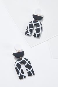 Mod Contrast Earrings