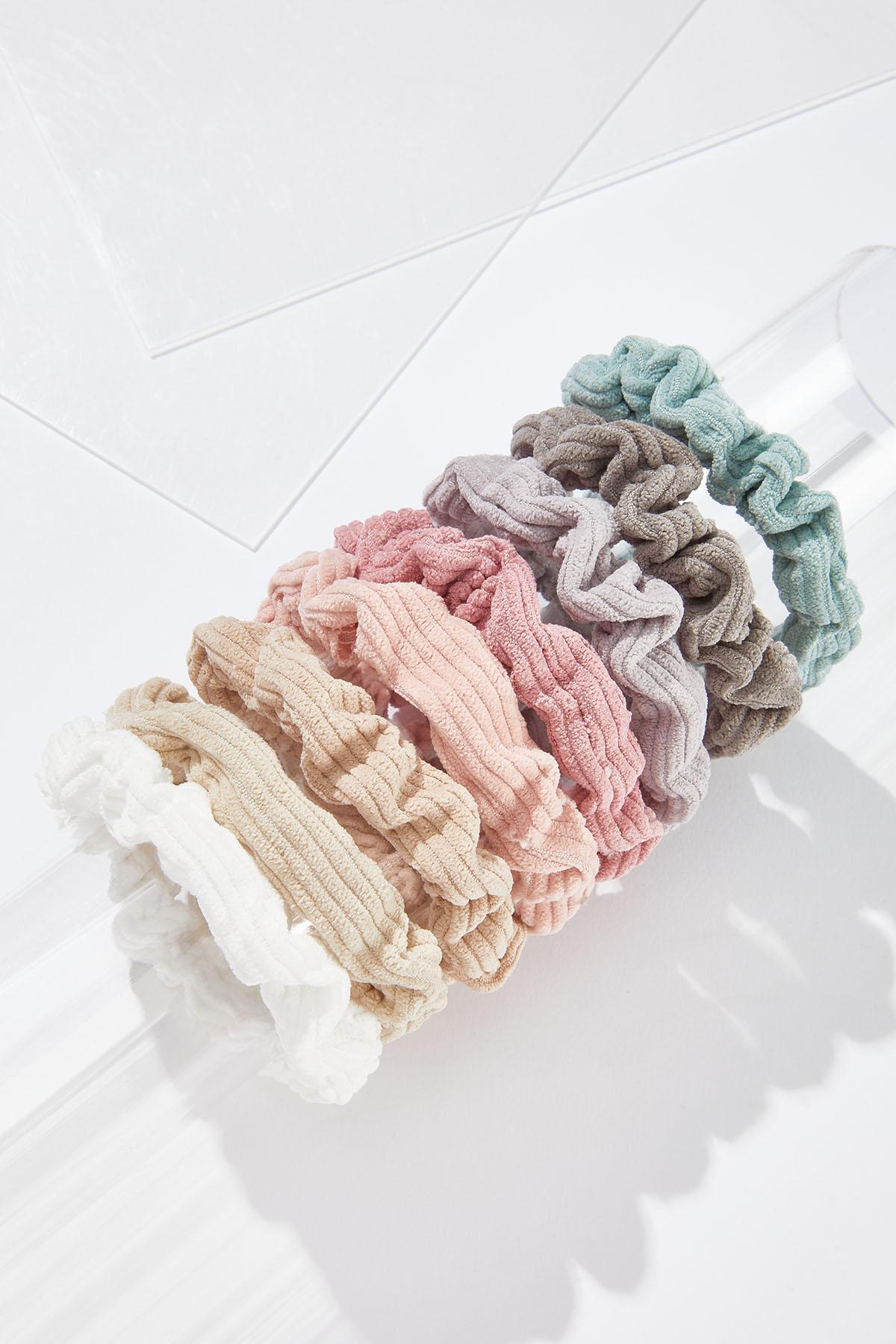Pretty Pastel Scrunchie Set