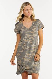 Twisted Camo Dress