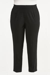Plus Size Slim Trouser Pants