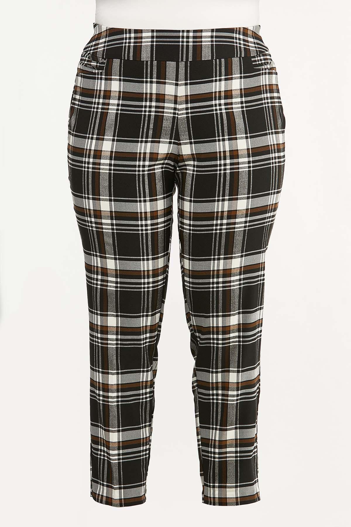 Plus Size Neutral Bengaline Pants