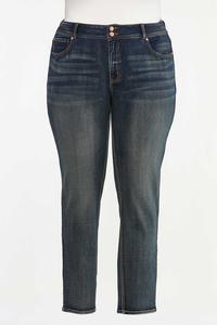 Plus Size Skinny Shape Enhancing Jeans