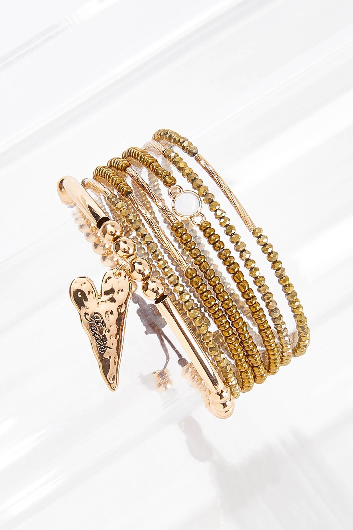 Inspirational Mixed Bracelet Set