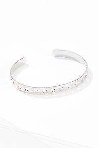 Cutout Star Bangle Bracelet
