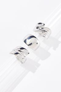 Silver Ring Party Set