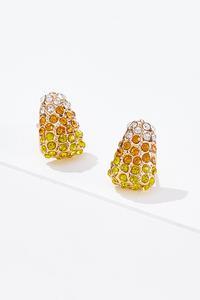 Sparkle Candy Corn Earrings