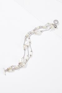 Layered Pearl Bracelet
