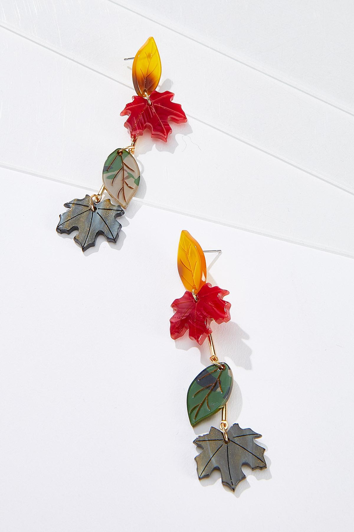 Falling Leaf Earrings