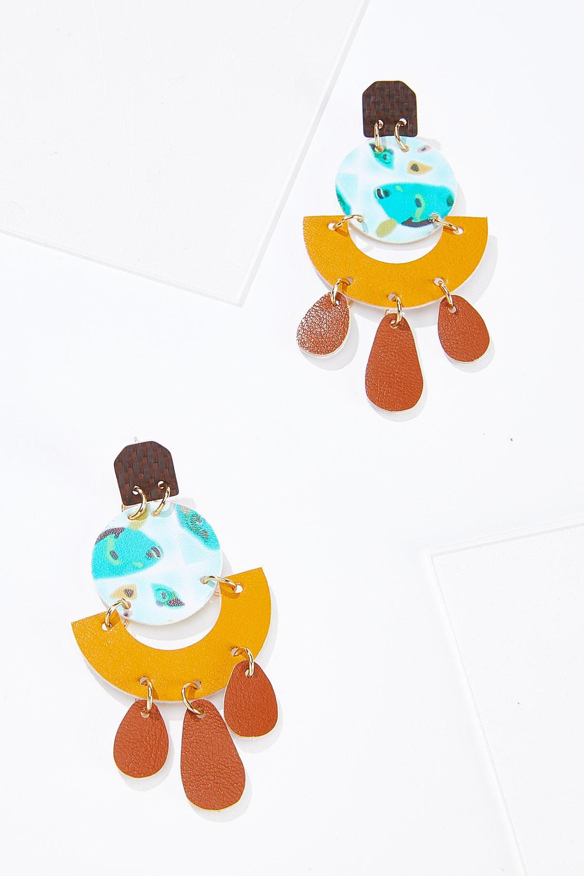 Geo Fun Dangle Earrings