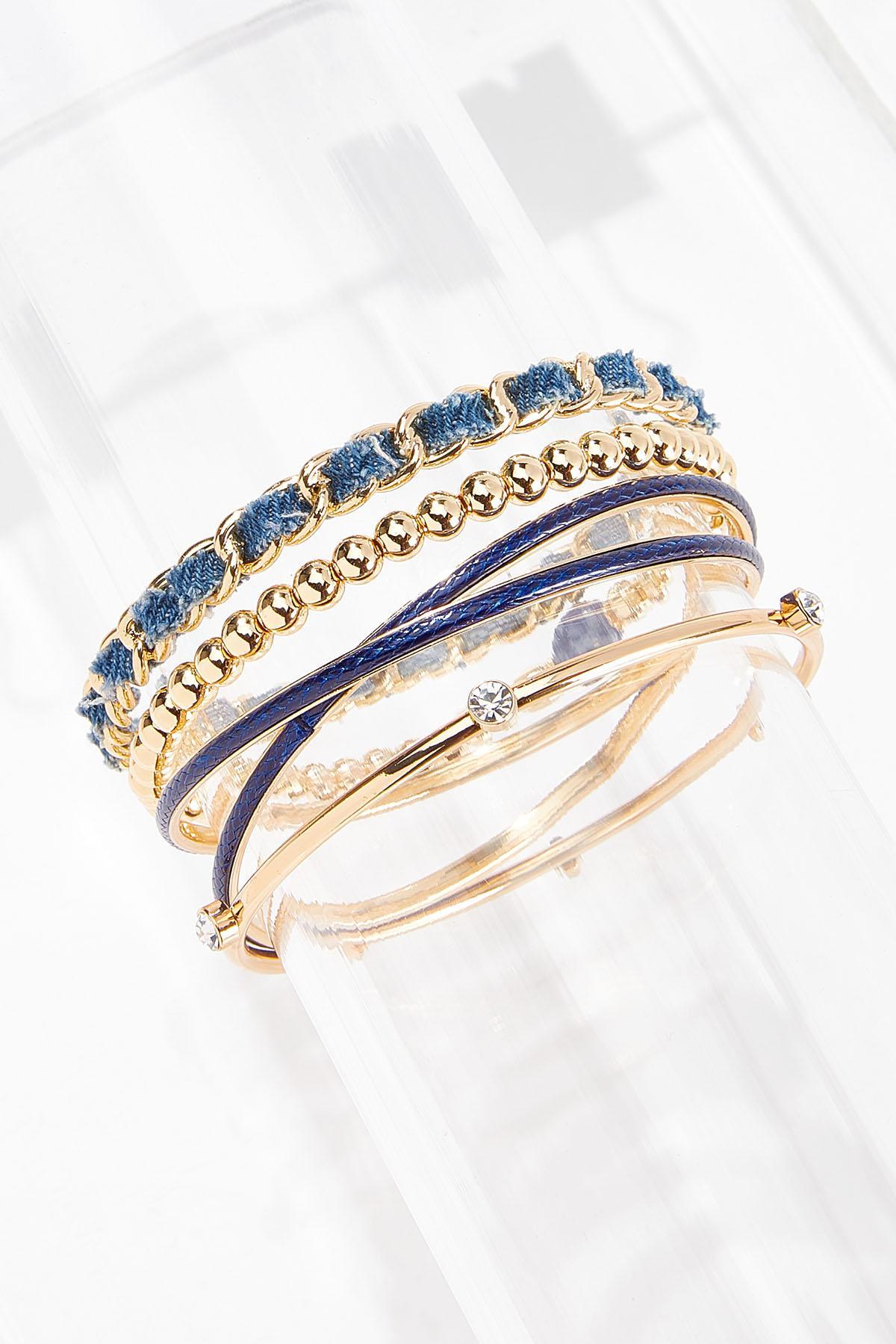 XL Mixed Blue Bracelet Set