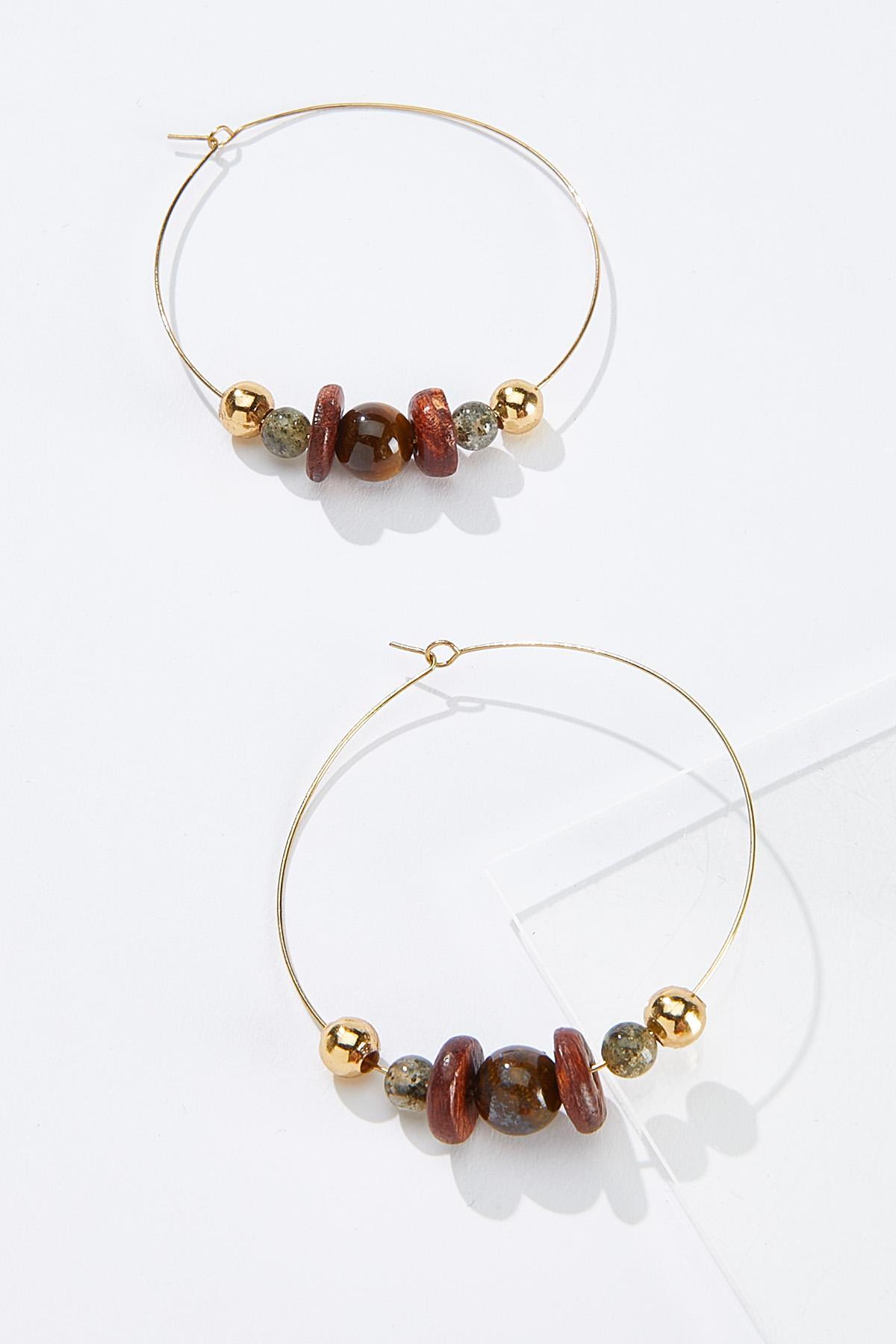 Natural Elements Hoop Earrings