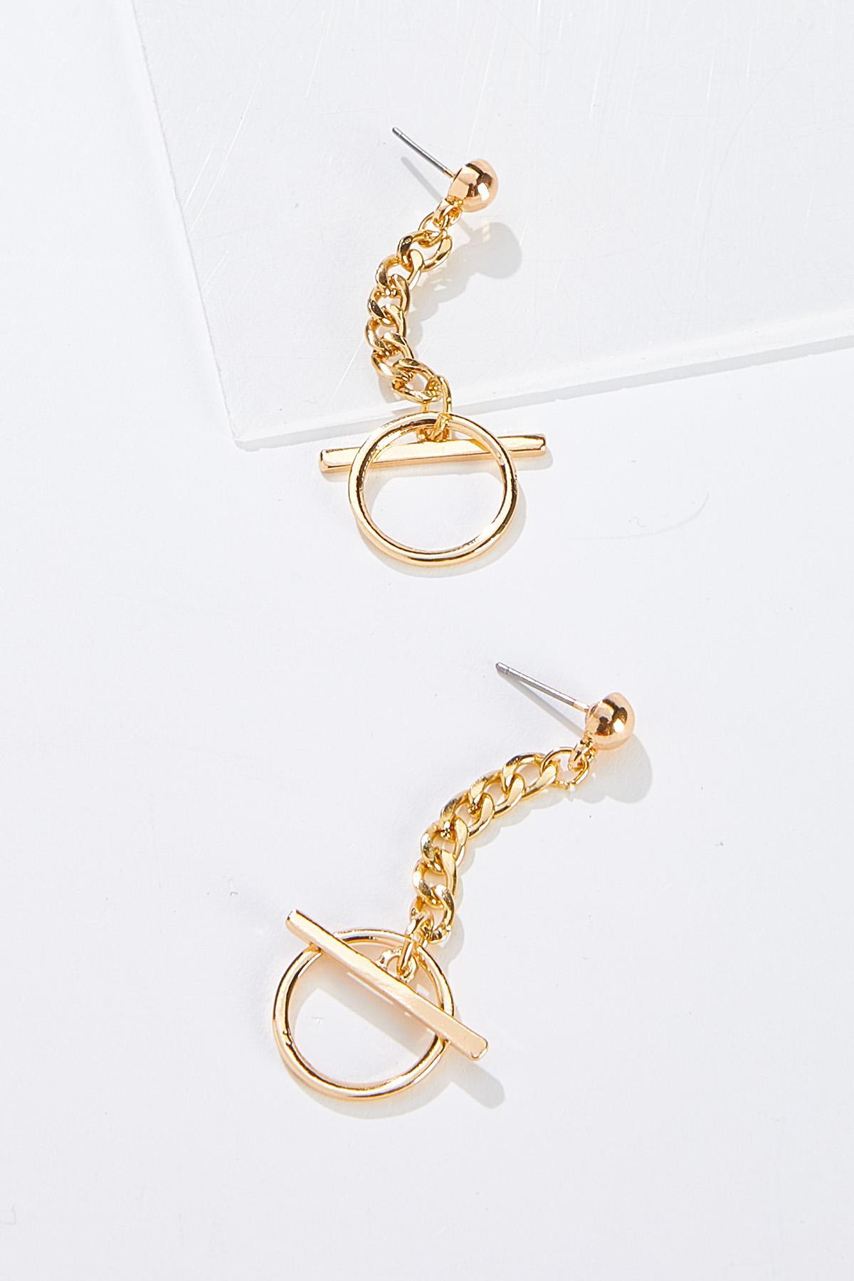 Chain Toggle Earrings