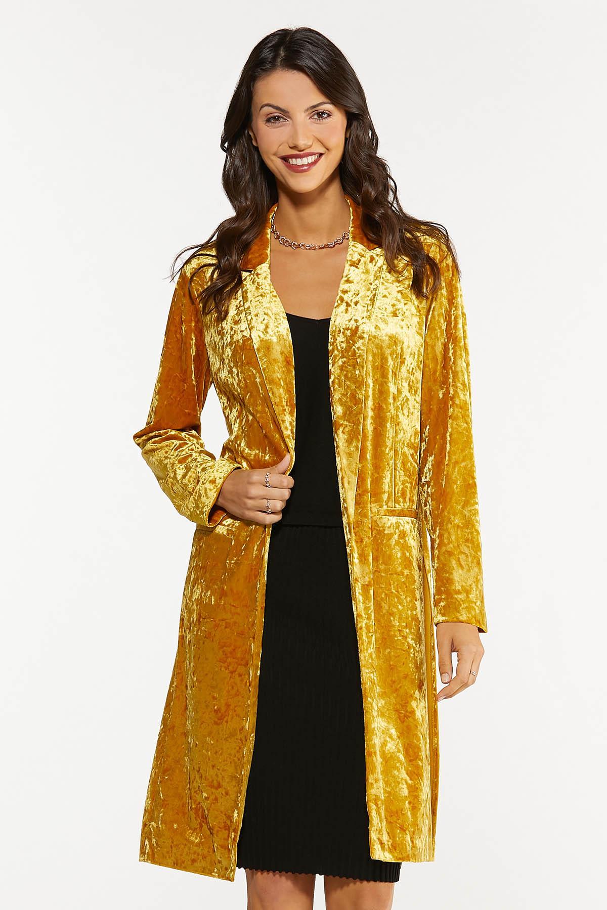 Gold Velvet Topper