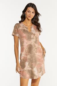 Blush Dye French Terry Dress
