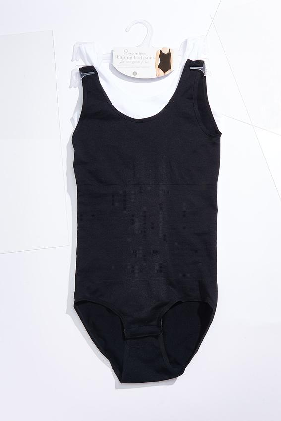 Plus Size Shaping Bodysuit Set