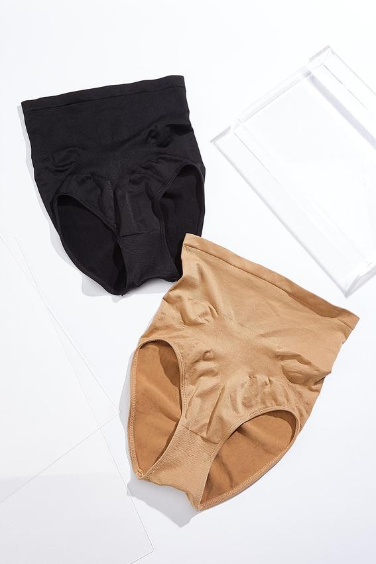 Plus Size Seamless Shaping Panty Set