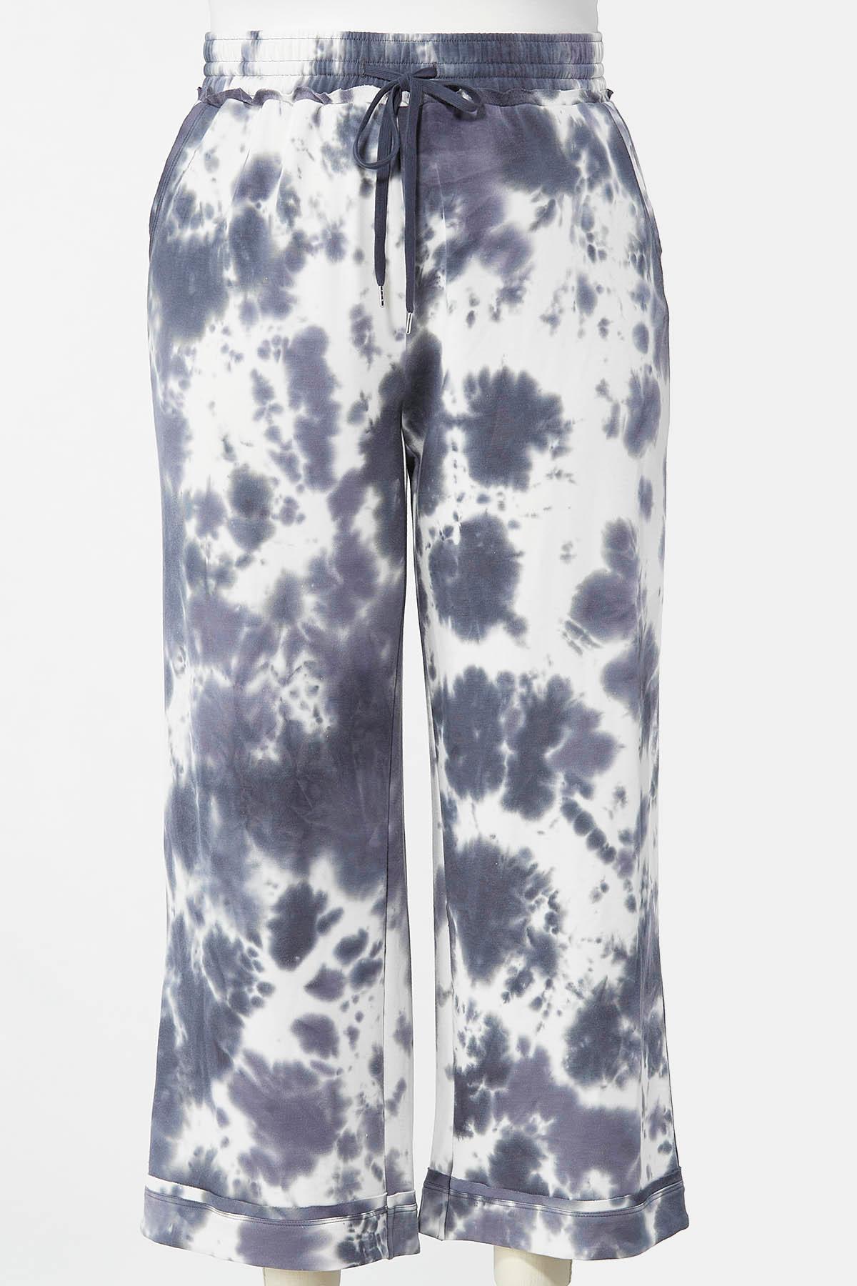 Plus Size Tie Dye Pants