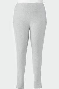 Plus Size Mesh Pocket Leggings
