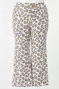 Plus Size Leopard Lounge Pants