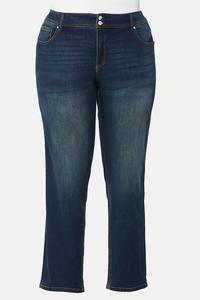 Plus Size Curvy Straight Leg Jeans