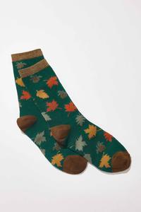 Fall Leaves Socks