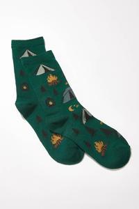 Happy Camper Socks
