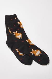 Corgi Love Socks