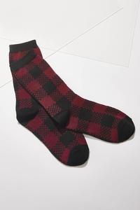 Checkered Plaid Socks