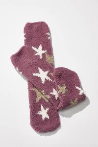 Fleece Star Socks