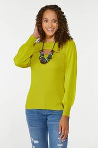 Plus Size Cutout Ribbed Sweater