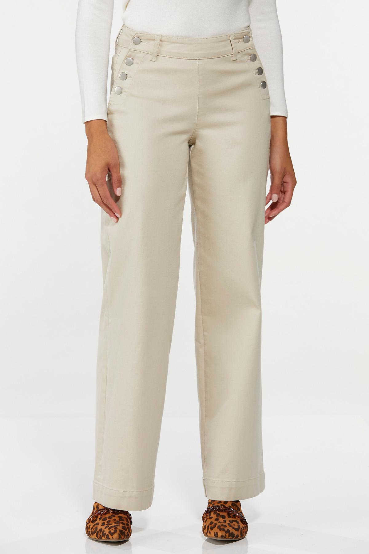 Twill Sailor Pants