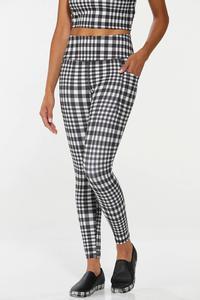 Checkered Active Leggings