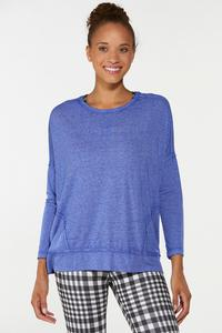 Plus Size Relaxed Active Top