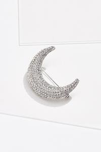 Love To The Moon Brooch