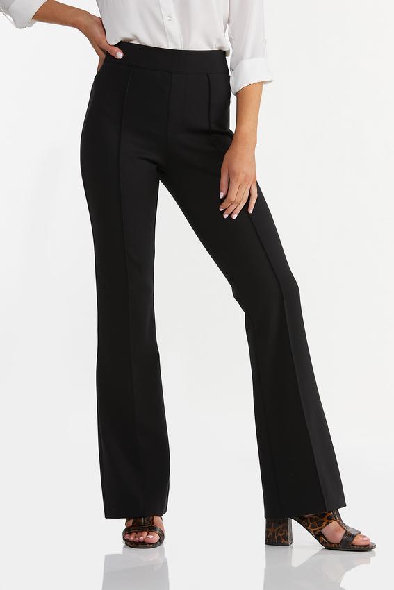 Petite Pintucked Ponte Pants