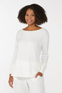 Ribbed Lounge Top