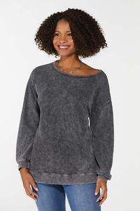 Faded Wash Sweatshirt
