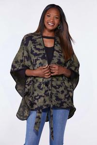 Camo Belted Wrap