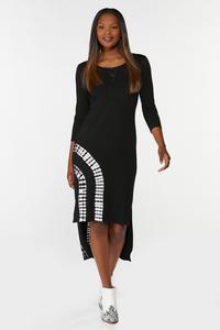 Plus Size Tie Dye Midi Dress