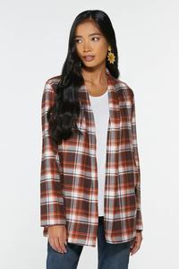 Fireside Plaid Shirt Jacket
