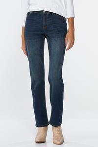 Curvy Straight Leg Jeans