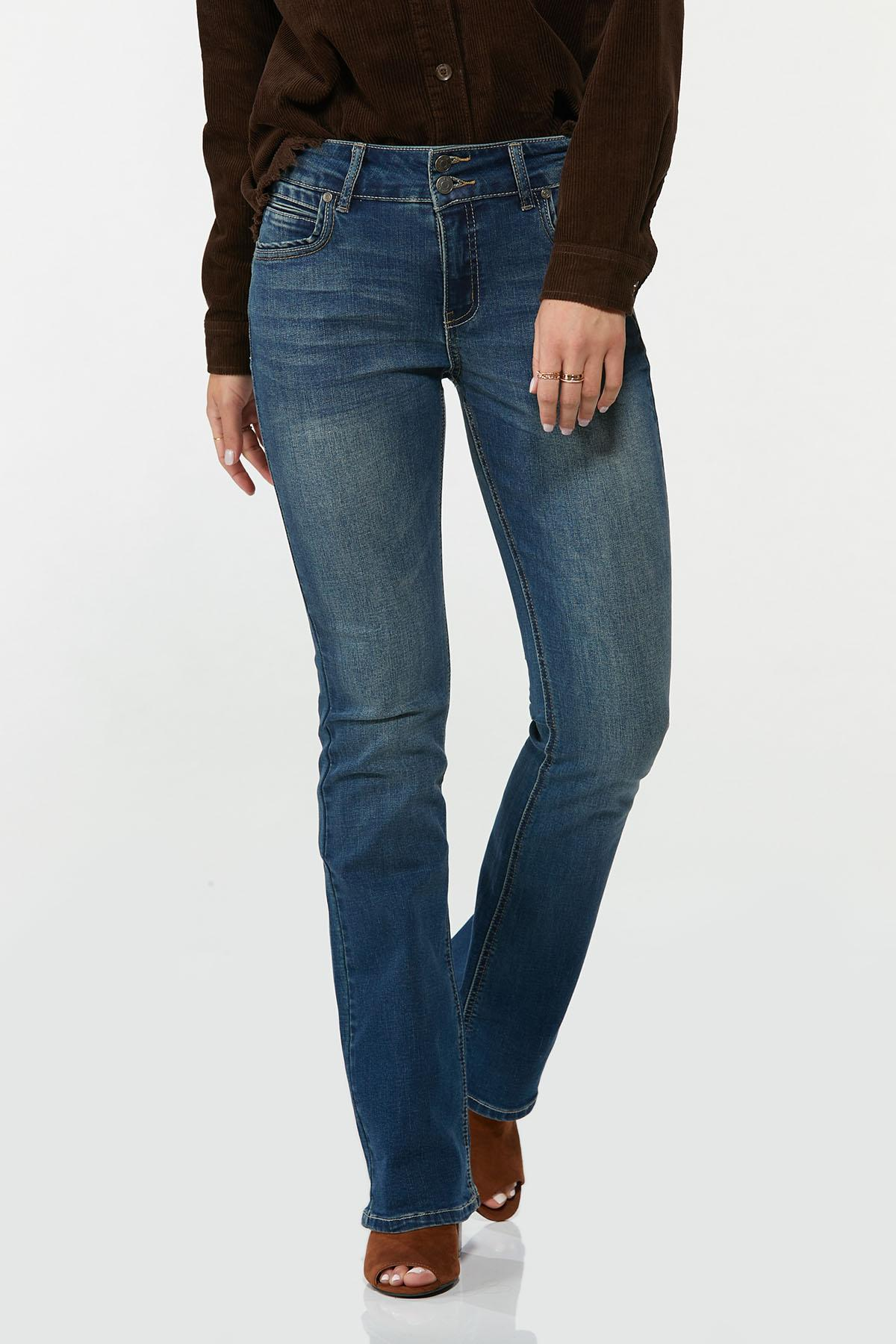 Slimming Bootcut Jeans