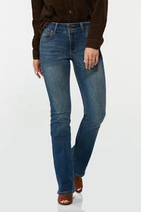 Petite Slimming Bootcut Jeans