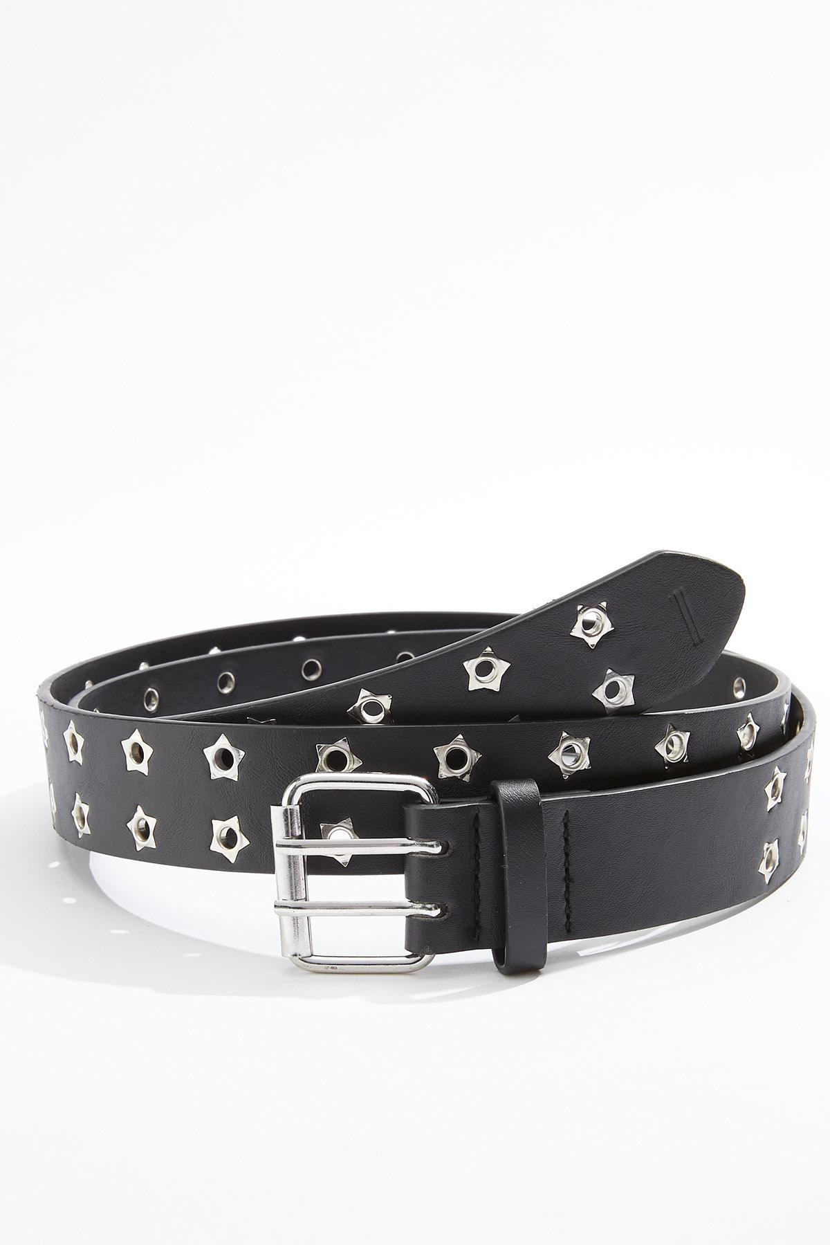 Plus Size Star Grommet Belt