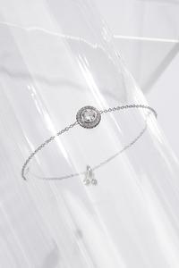 Sparkle Cushion Pull-String Bracelet