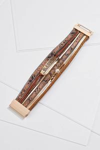 Textured Blessed Bracelet