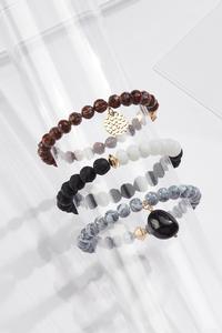 Charming Bead Bracelet Set