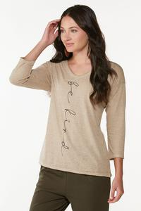 Plus Size Be Kind Burnwash Top