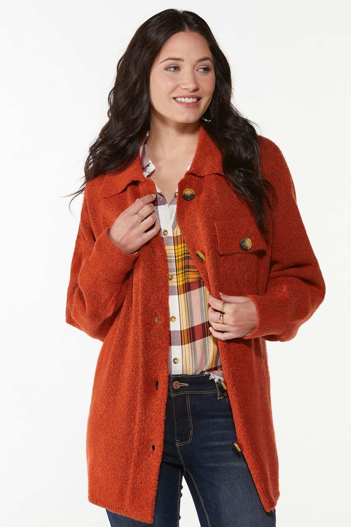 Plus Size Fireside Cardigan Sweater